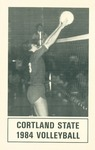 1984 Team Guide, Volleyball by State University of New York College at Cortland