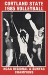1985 Team Guide, Volleyball by State University of New York College at Cortland