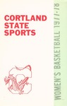 1977-1978 Team Guide, Women's Basketball by State University of New York College at Cortland