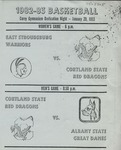 1983 Program, Women's Basketball