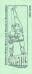 1975-1976 Team Guide, Men's and Women's Gymnastics