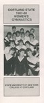 1987-1988 Team Guide, Women's Gymnastics