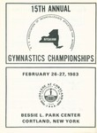 1983 Championship, Women's Gymnastics by State University of New York College at Cortland