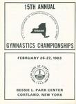 1983 Championship, Women's Gymnastics