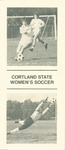 1983 Team Guide, Women's Soccer