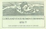 1976-1977 Team Guide, Women's Swimming by State University of New York College at Cortland