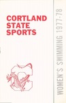 1977-1978 Team Guide, Women's Swimming by State University of New York College at Cortland