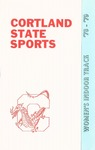 1978-1979 Team Guide, Women's Track & Field by State University of New York College at Cortland