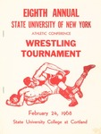 1968 Tournament, Wrestling by State University of New York College at Cortland