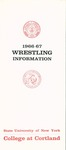 1966-1967 Team Guide, Wrestling