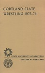 1973-1974 Team Guide, Wrestling by State University of New York College at Cortland